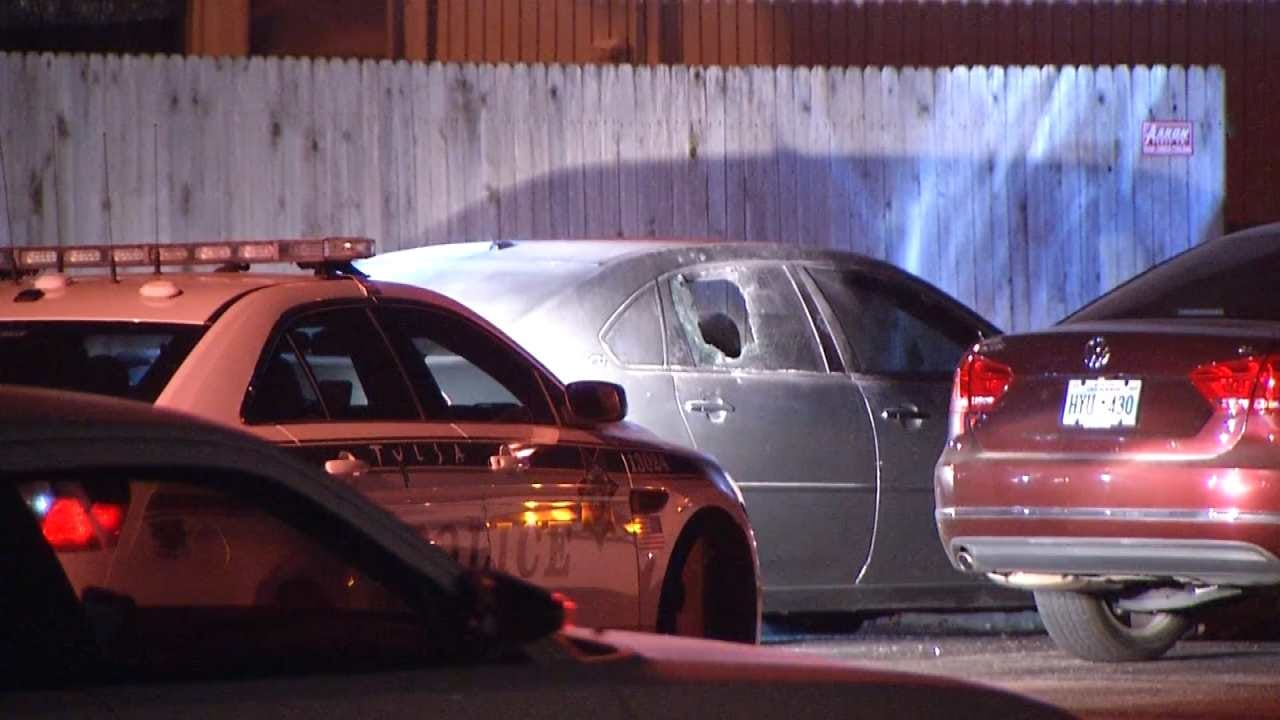 Pepper Balls Used To Arrest Driver Following Tulsa Police Chase