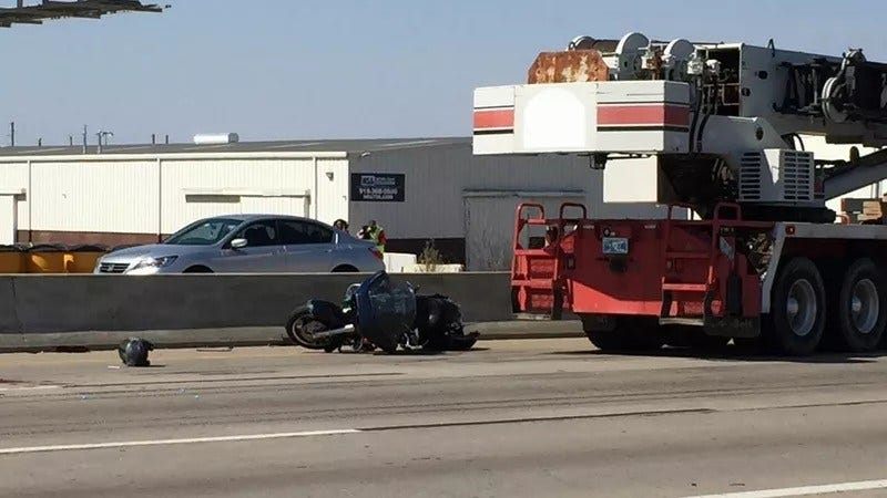Police ID 72-Year-Old Motorcyclist Killed In Tulsa Highway