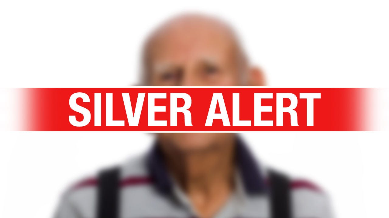 Silver Alert Issued For Wagoner County Man