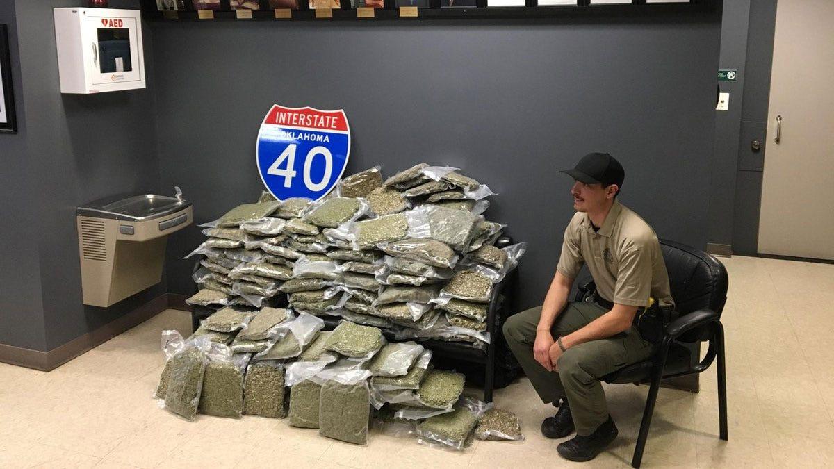 221 Pounds Of Pot Seized By Sequoyah County K-9 Unit