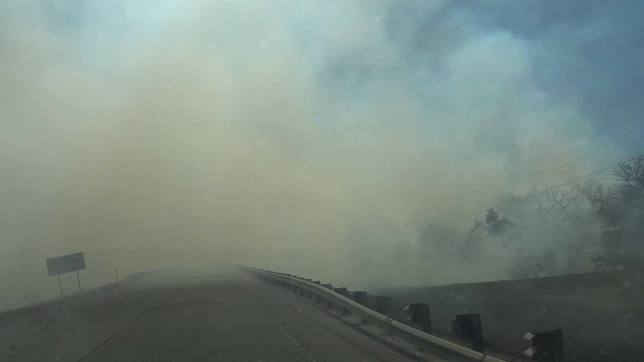 Grass Fires Flare Up Around Green Country