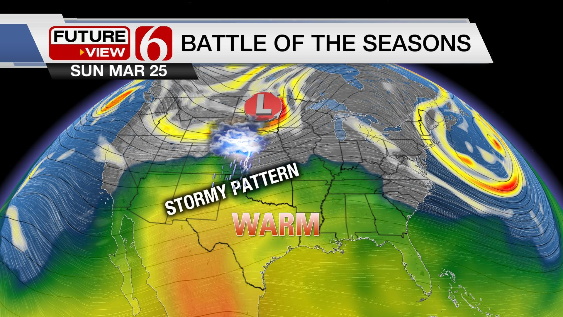From a Cold to Stormy Start to Spring