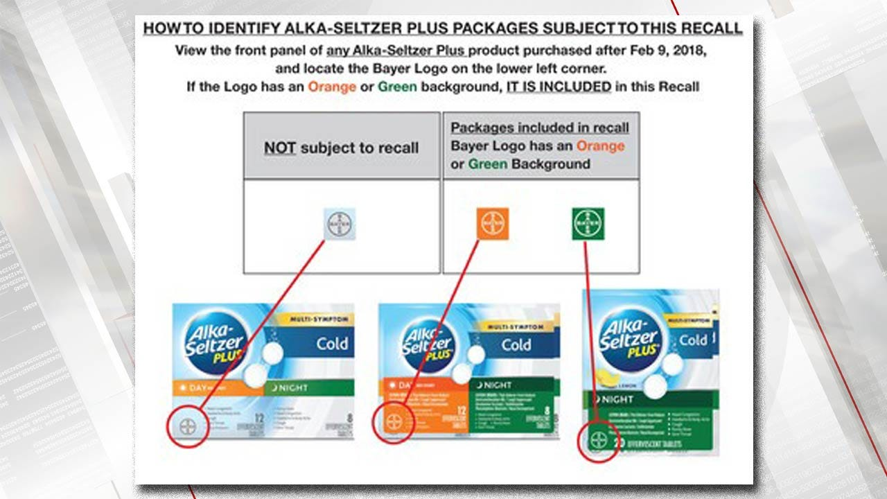 Labeling Error Leads To Alka-Seltzer Plus Recall