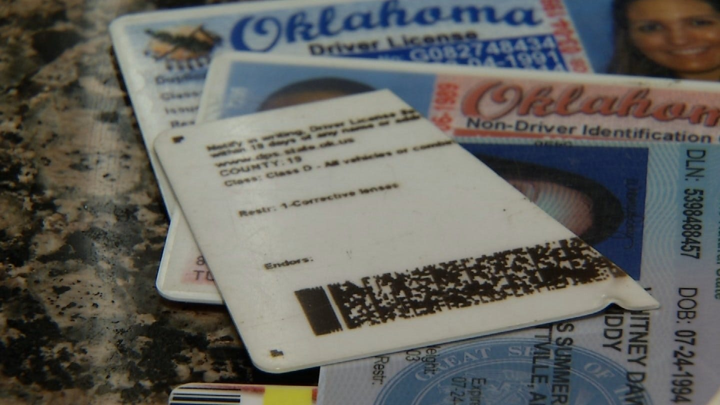 Police And Homeland Security Investigating High Quality Fake IDs Found In Tulsa