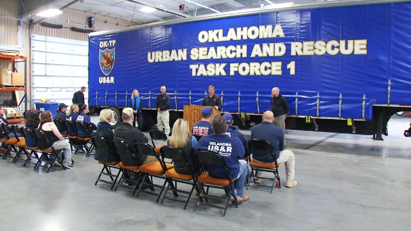 Search & Rescue Dogs From Across The U.S. In Tulsa For Training