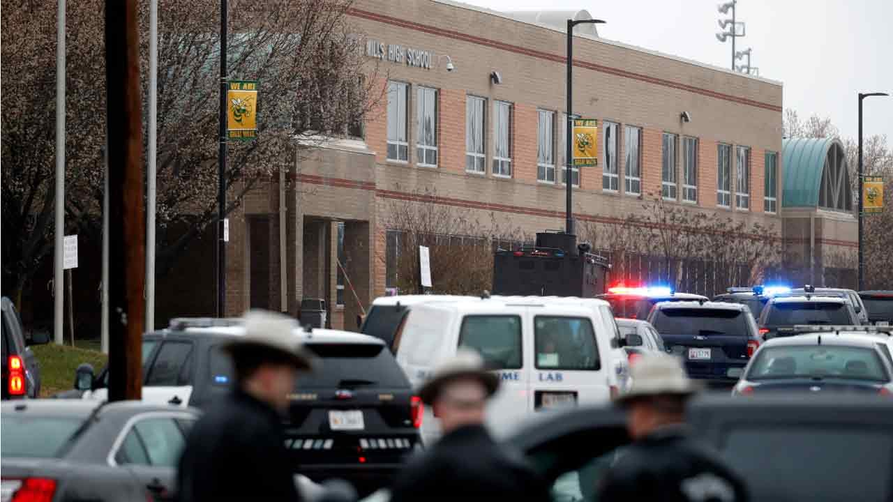 Shooter Dead, Two Students Injured In Maryland School Shooting