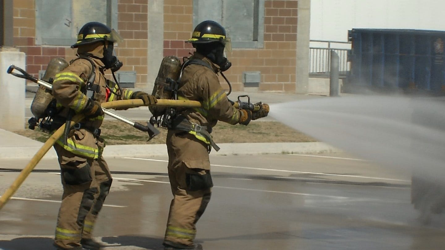 Cadets Face Grueling 24-Hour Drill On The Way To Becoming Tulsa Firefighters
