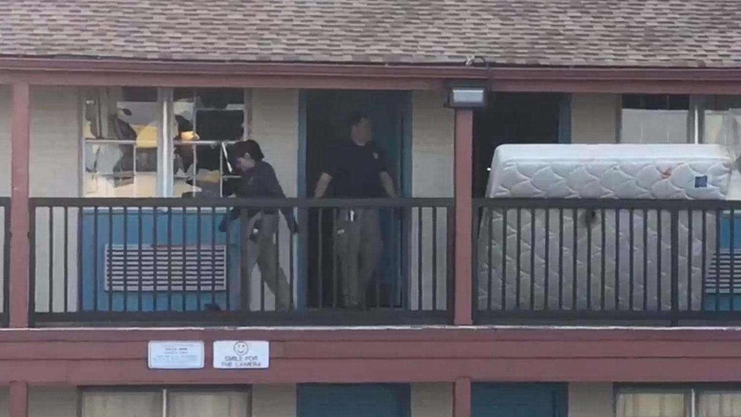 Motel Neighbor Traumatized After Tulsa Standoff