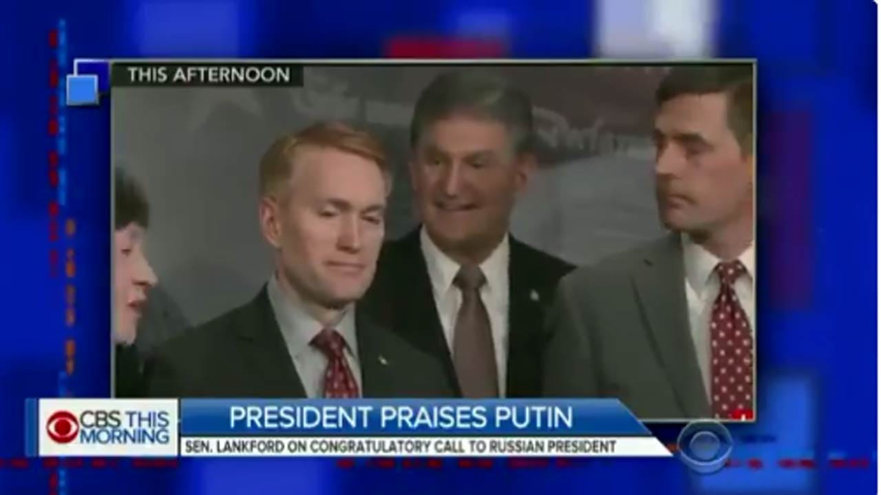 Senator James Lankford Agrees With Stephen Colbert