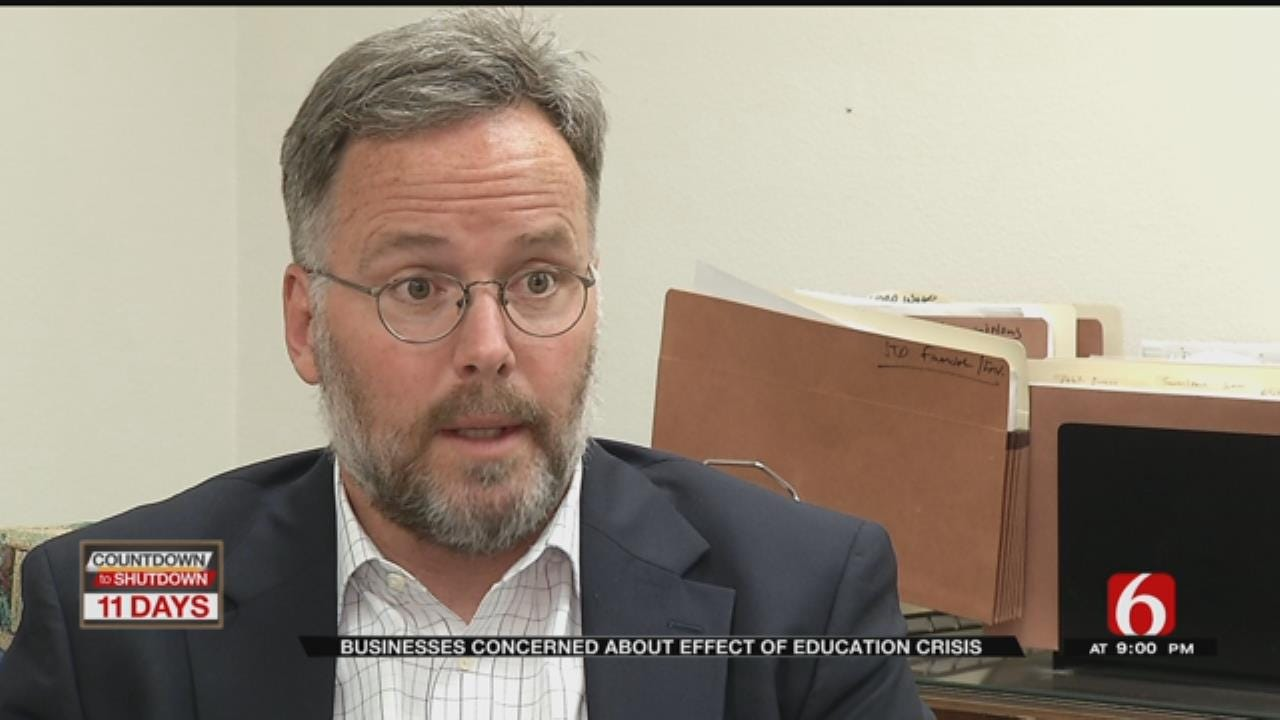 Education Funding A Must Says Tulsa Business Leaders