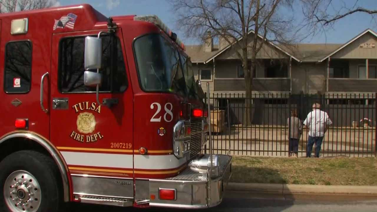 Family Displaced After Fire At Tulsa Apartment