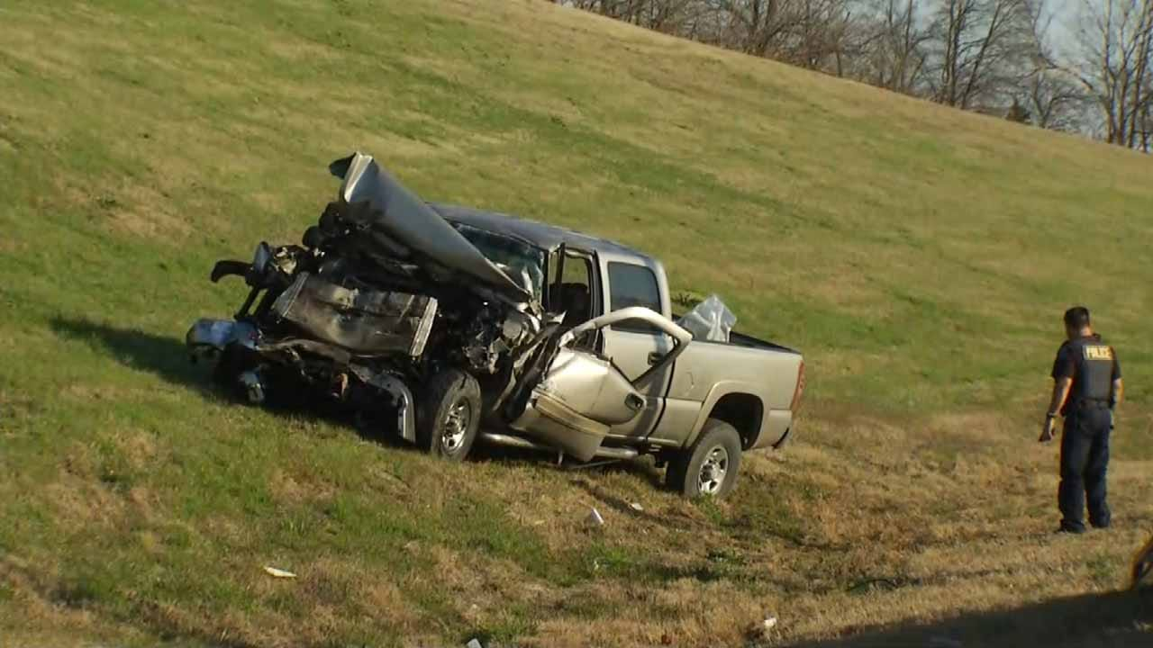 Lapse Of Attention Blamed For Crash On Tulsa Highway