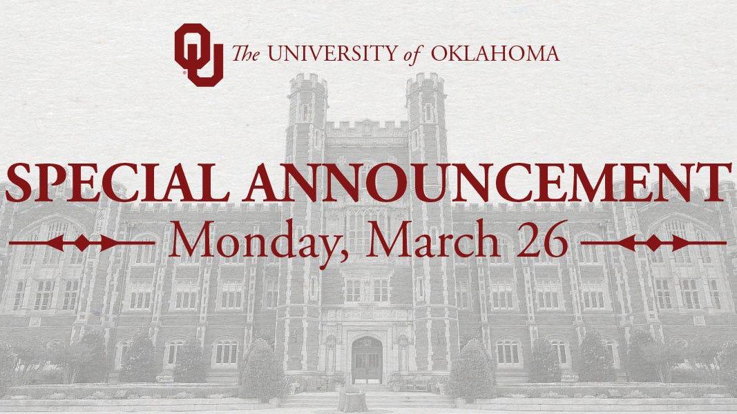 OU Set To Name New President