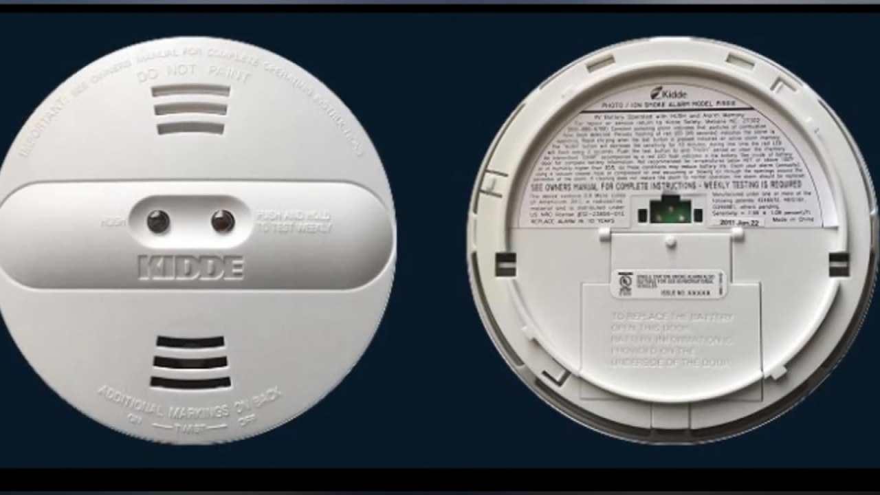 Kidde Recalls Smoke Detectors That Don't Detect Smoke