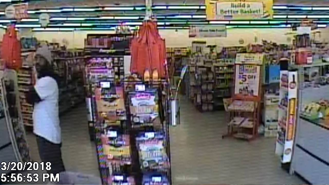 Police Release Photos Of Man Involved In Two Tulsa Store Robberies