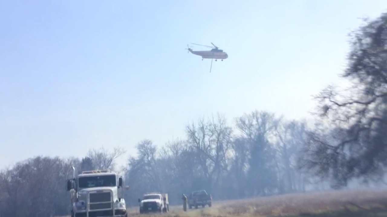Thousands Of Acres Burn Across Okmulgee County