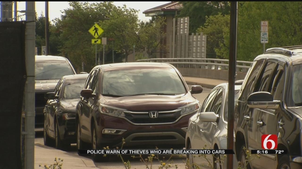 Tulsa Police Warn Of Springtime Thieves