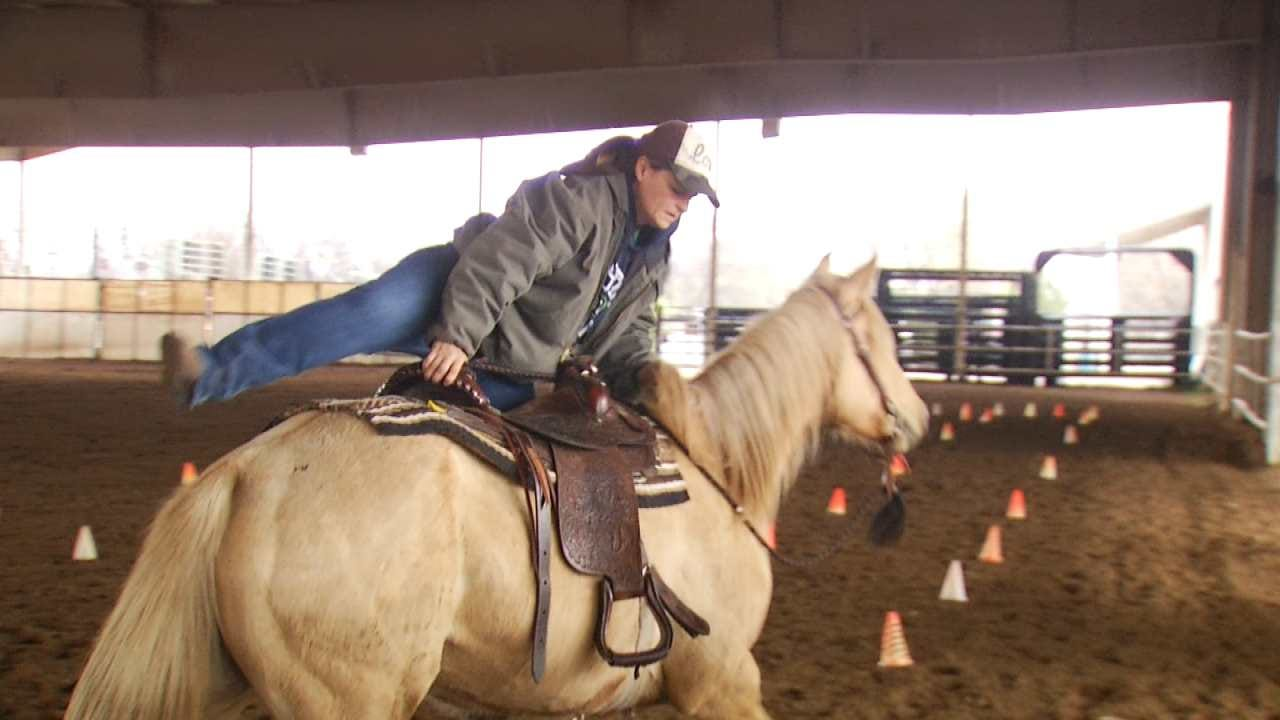 Mounted Patrol Auditions Held By Rogers County Sheriff's Office