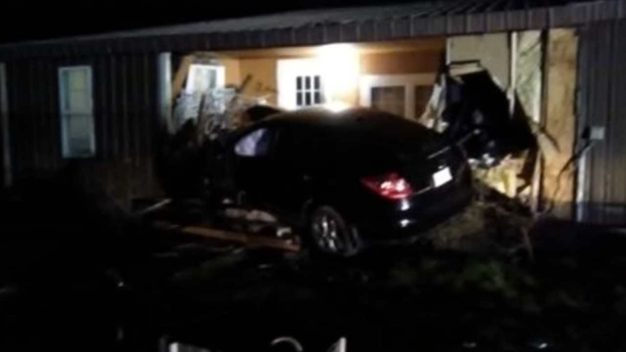 Stilwell Family Angered After Driver Who Crashed Into Home Initially Released