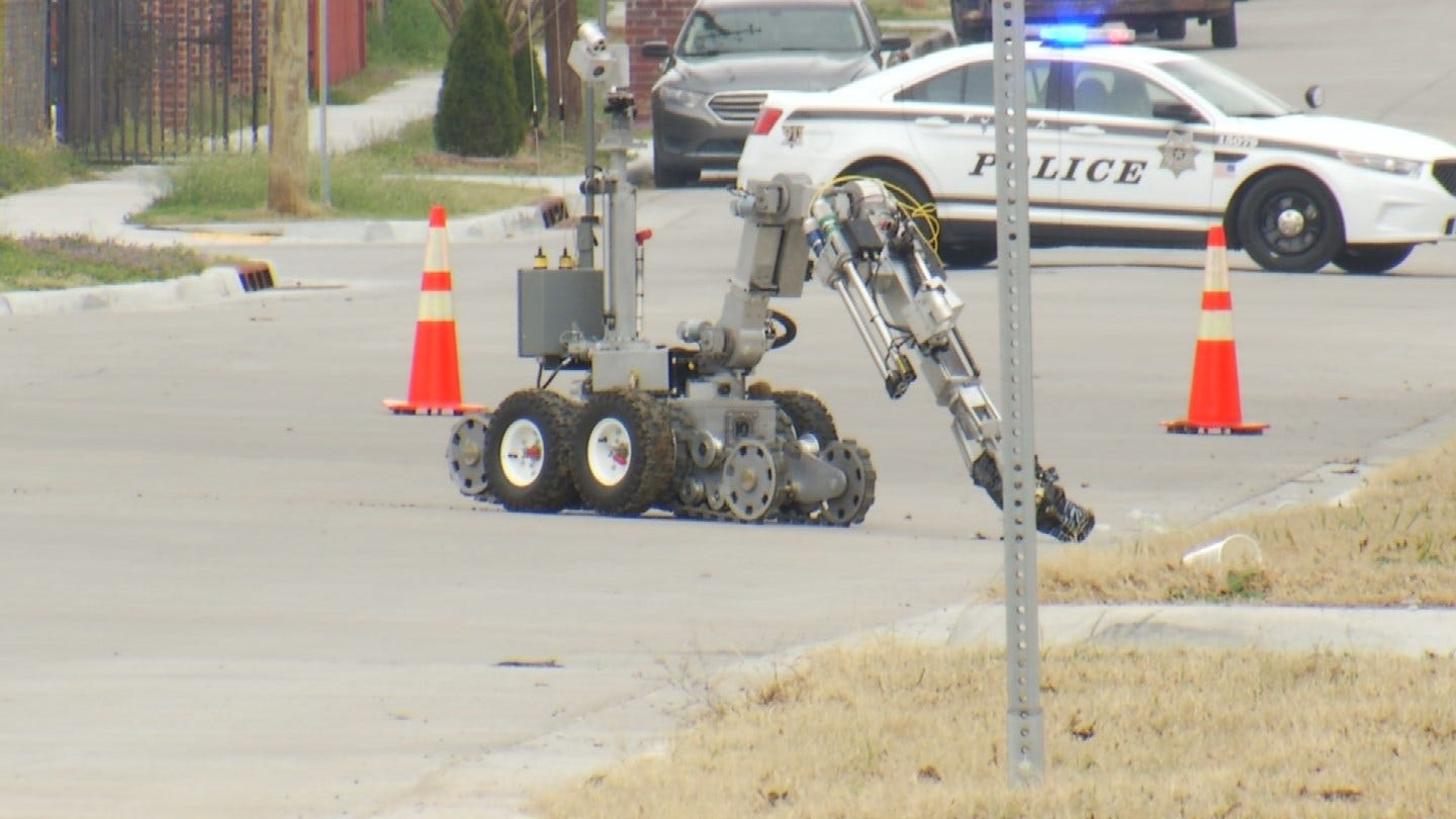 Tulsa Bomb Squad: No Explosive Device Found In Neighborhood