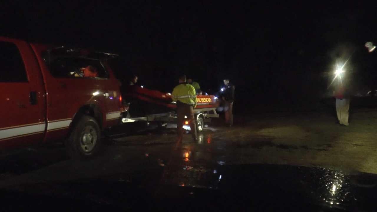 Man Rescued From Arkansas River Sandbar Near Bixby