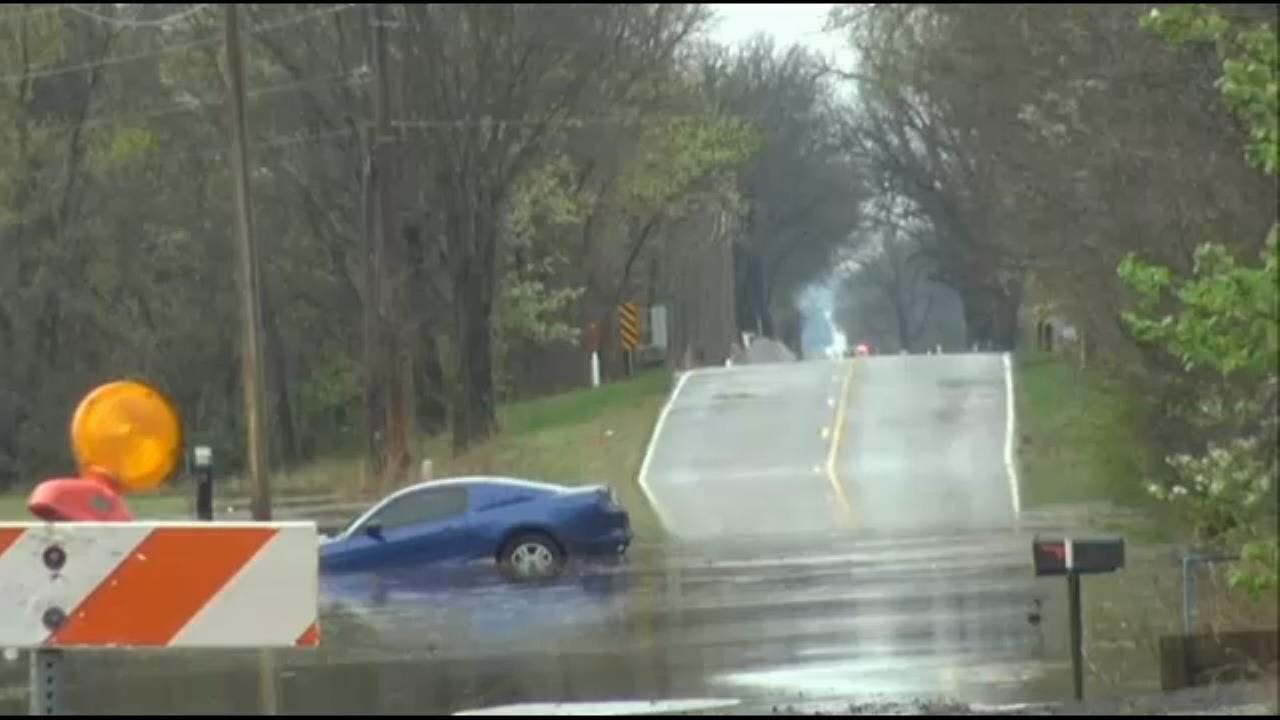 Woman Escapes High Water In Wagoner County
