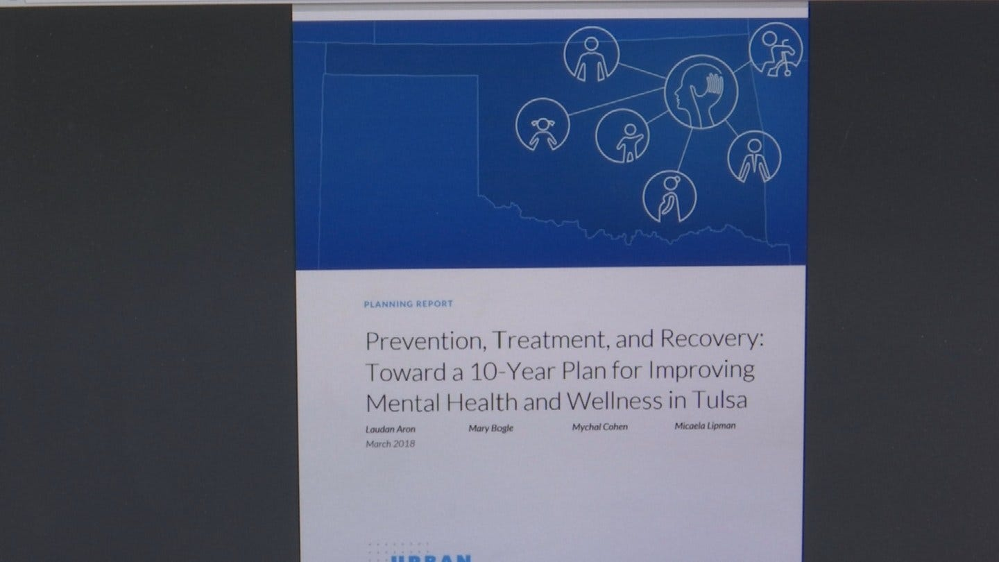 New Report Shows Prevalence Of Mental Health Issues Faced In Tulsa