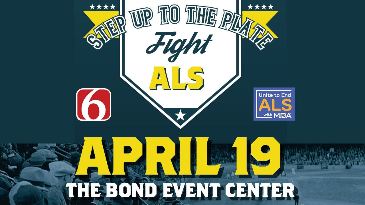 MDA To Host 'Step Up To The Plate, Fight ALS' Fundraiser In Tulsa