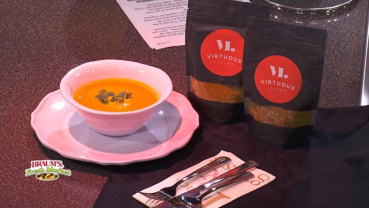 Spring Carrot-Ginger Soup
