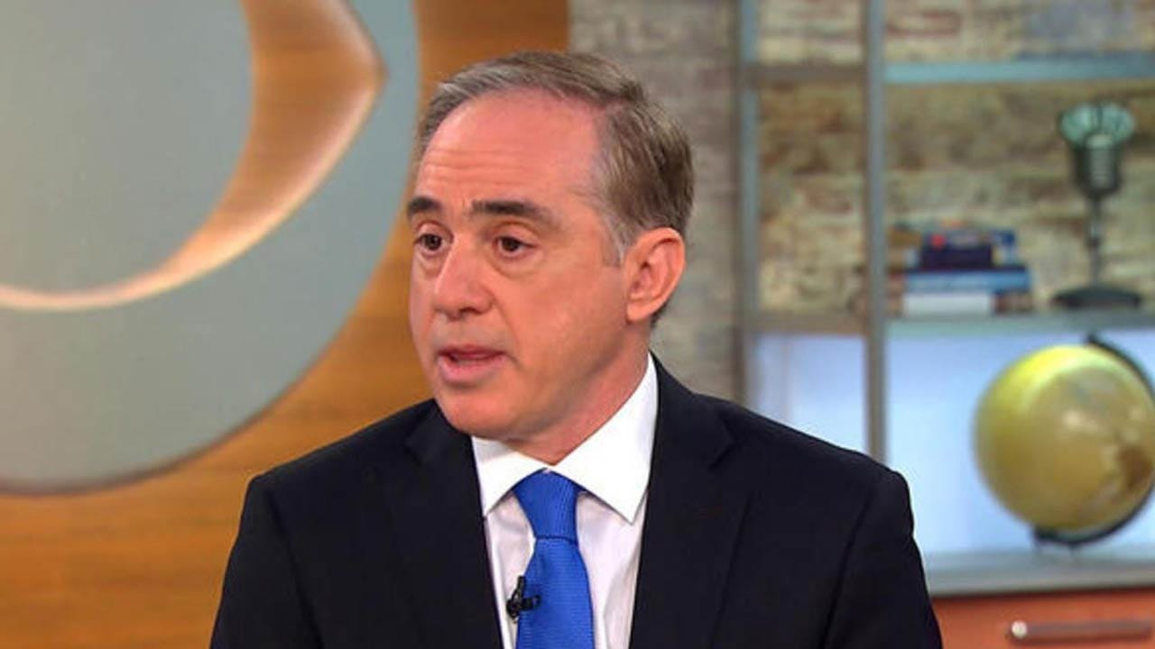 Trump Fires VA Secretary, Nominates White House Doctor As Replacement