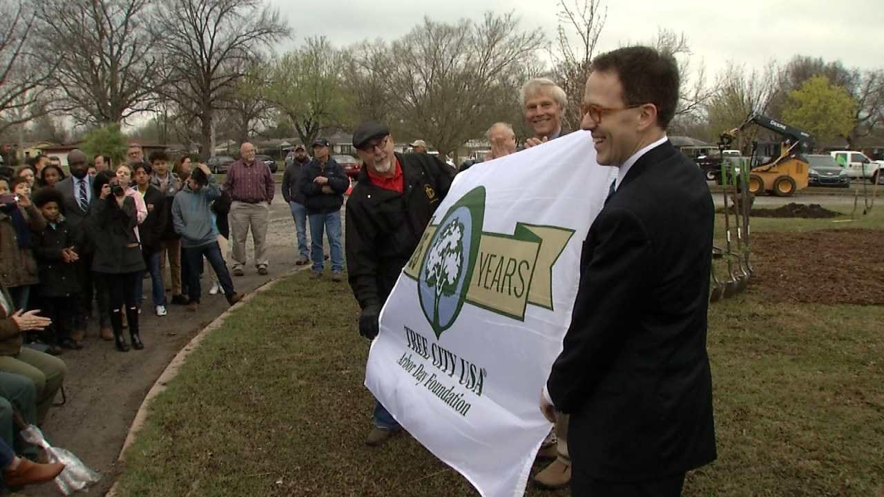 Tulsa Named 'Tree City USA' For 25th Consecutive Year