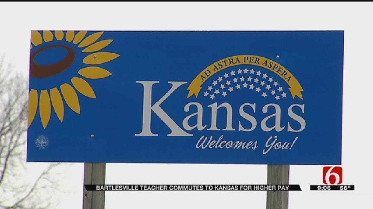 Former Oklahoma Teachers Cross State Lines For Better Pay