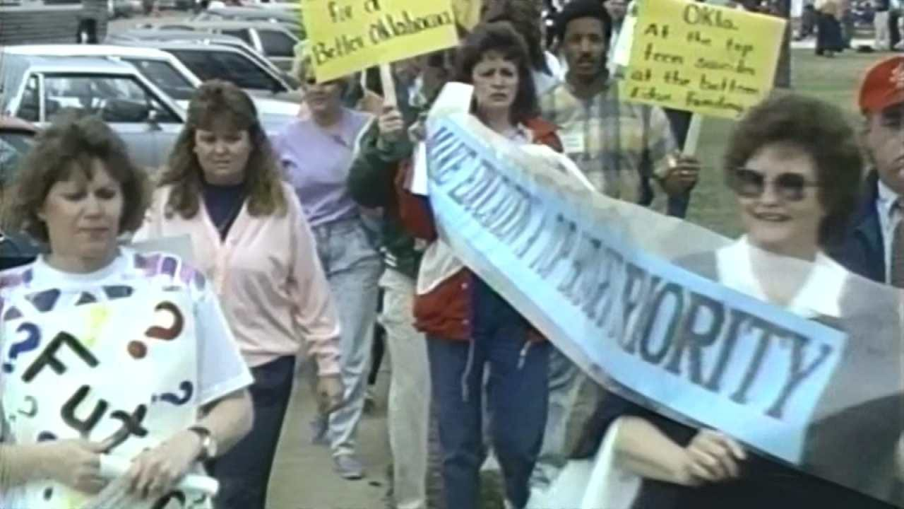 History Repeats Itself With Oklahoma Teacher Work Stoppage