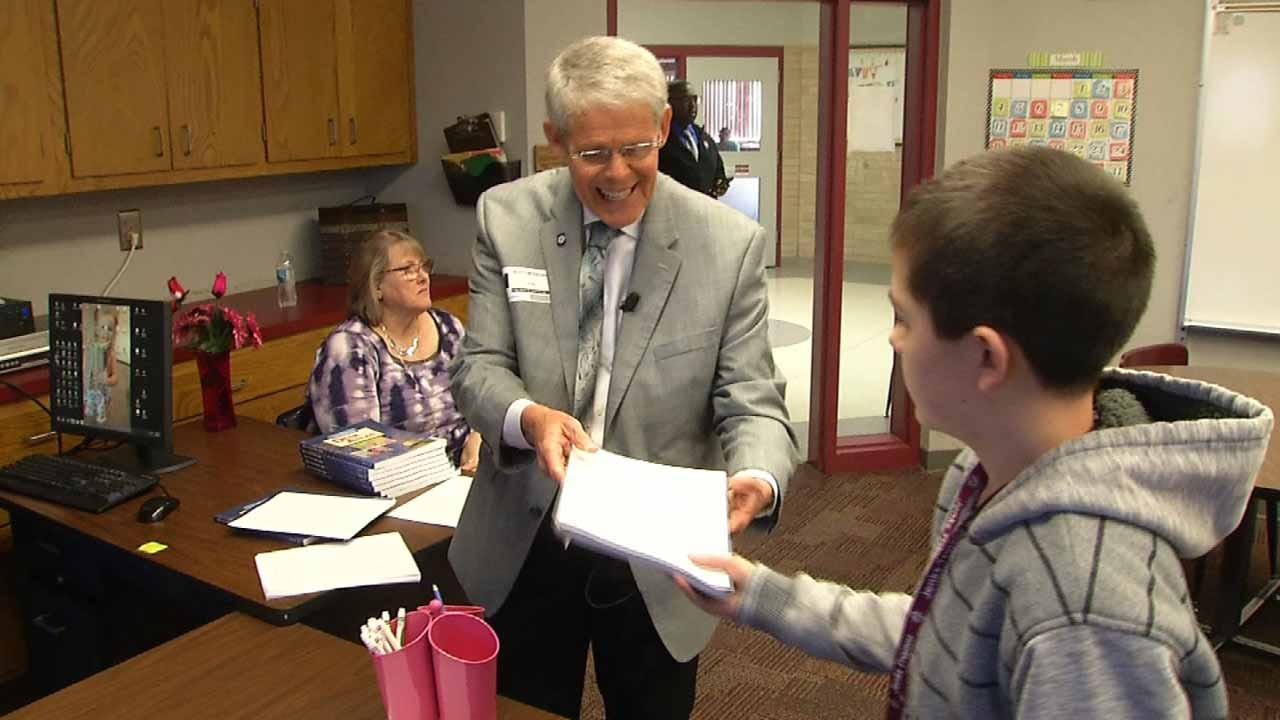 Lawmaker Accepts Challenge To Substitute Teach At Jenks School