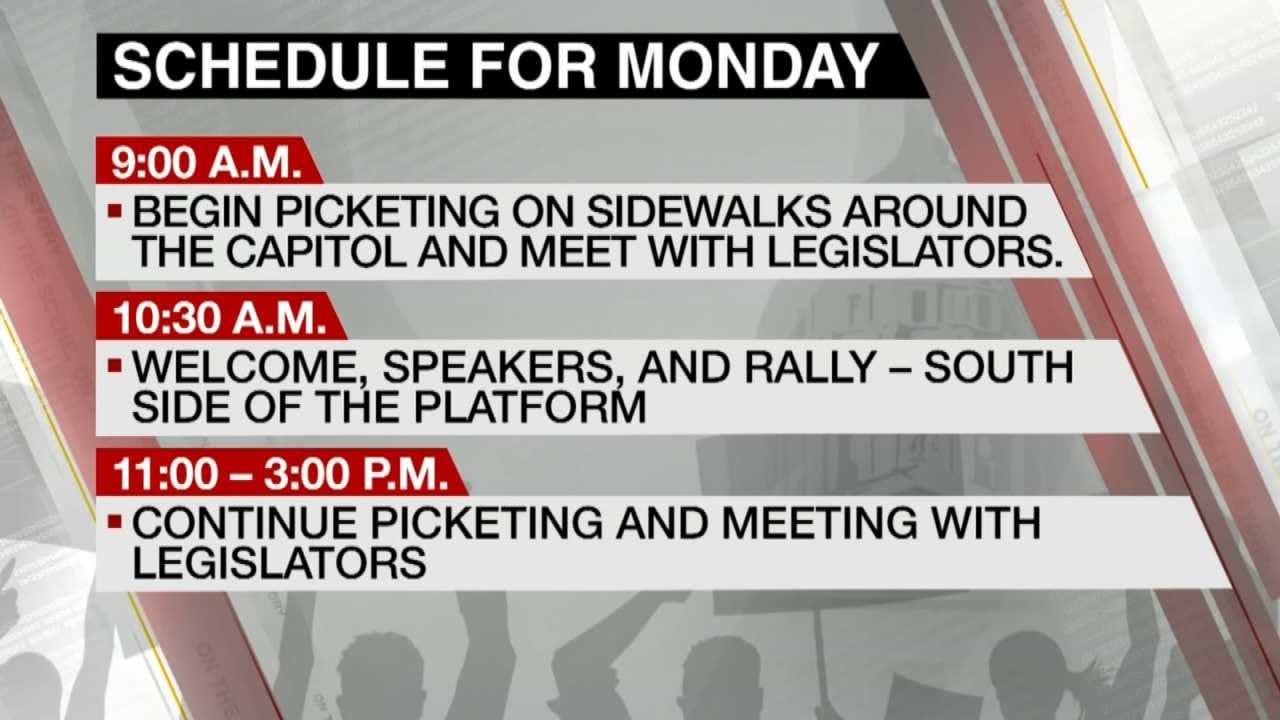 Teachers, Troopers Plan Logistics For Monday Walkout
