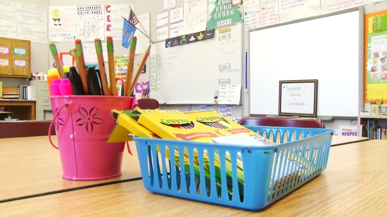 Tulsa 'Give-and-Grab' Event Aims To Help New Teachers Prepare For School Year
