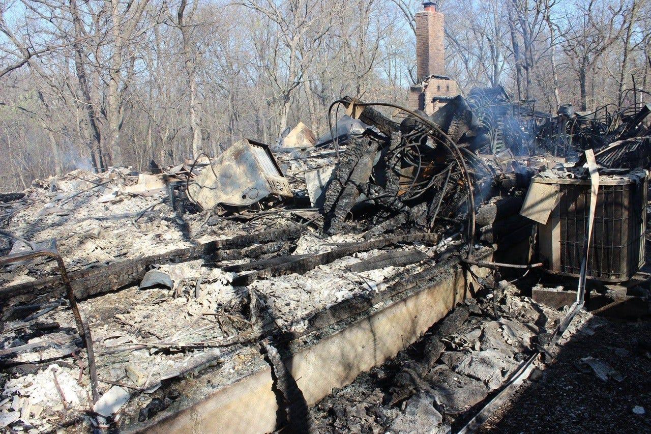 Fire Destroys Cabin At Church Camp Near Chouteau