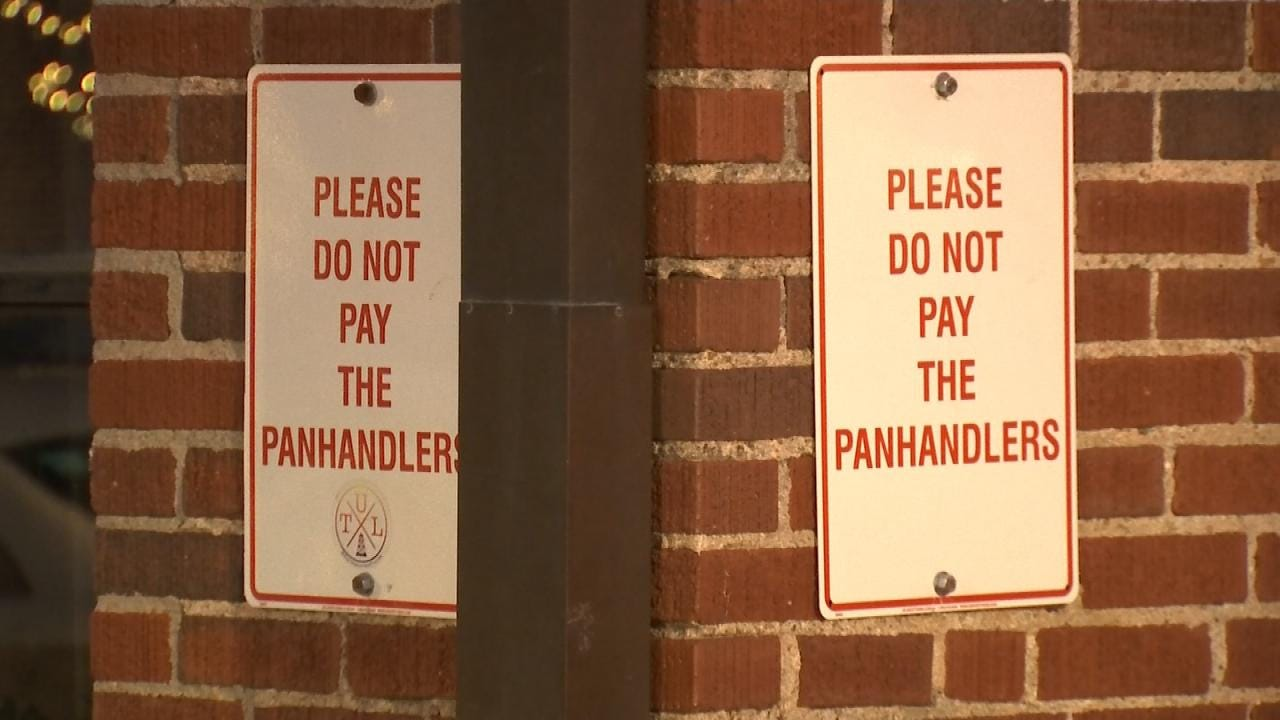City Of Tulsa Launches 'A Better Way' To Stop Panhandling