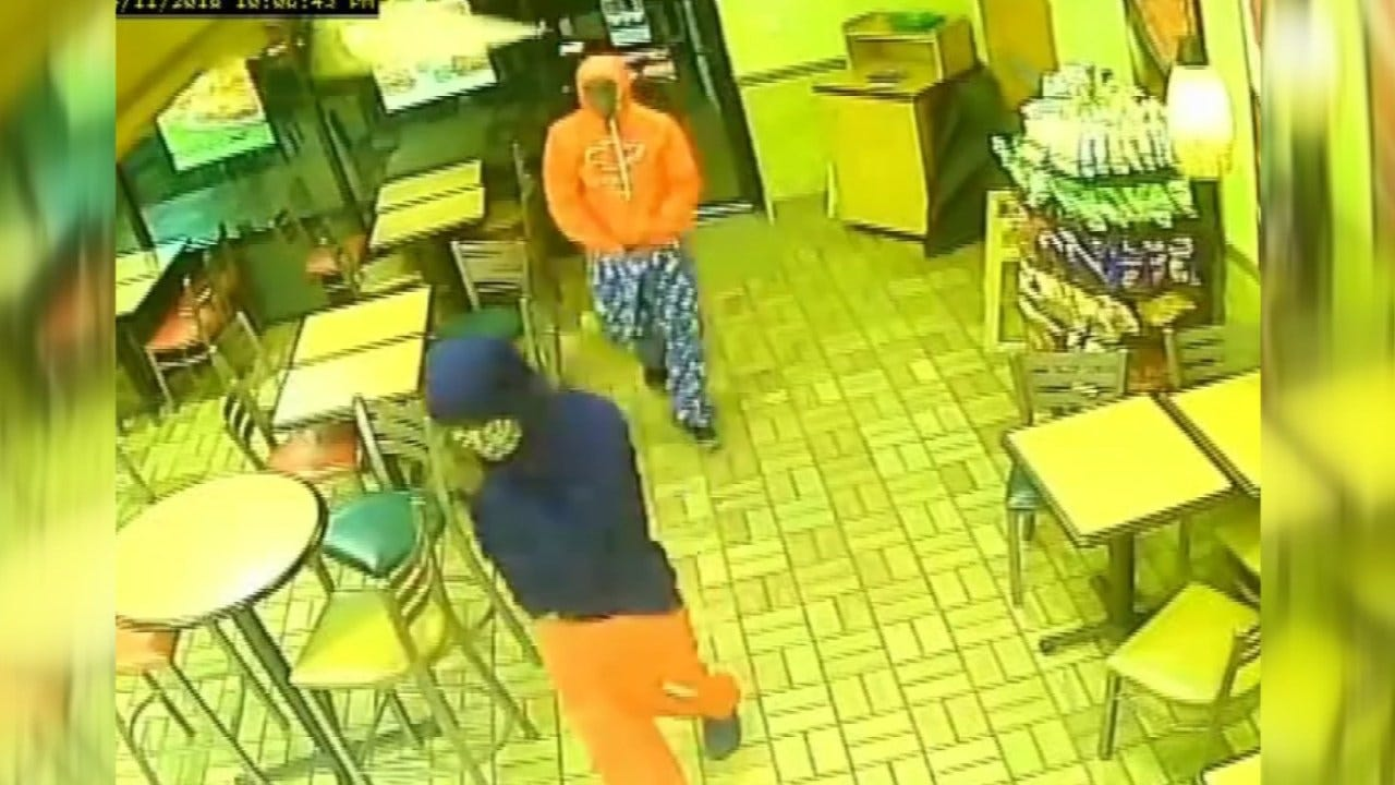 Muskogee Police Asking For Help Identifying Subway Armed Robbery Suspects