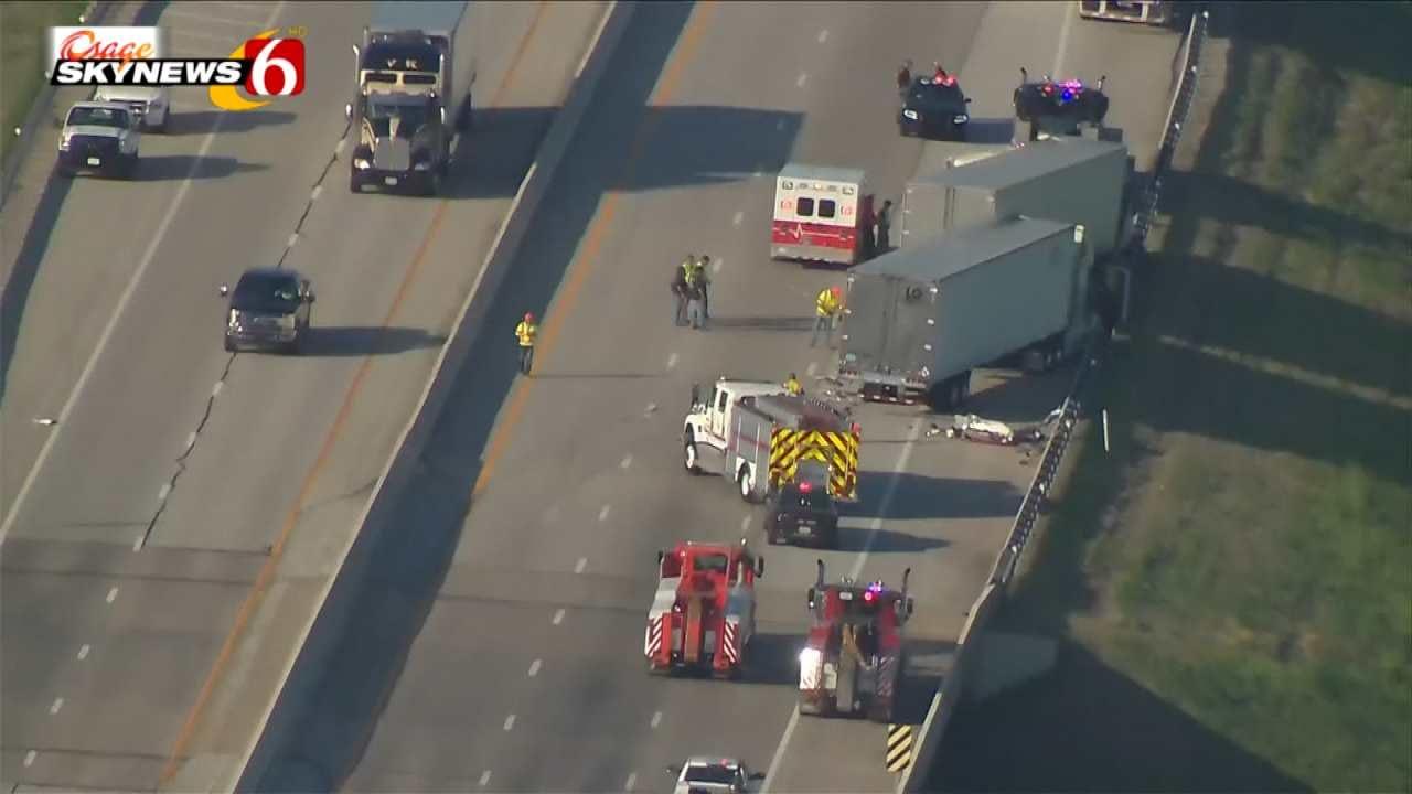 Crash Stops Eastbound Traffic On Will Rogers Turnpike Near Vinita