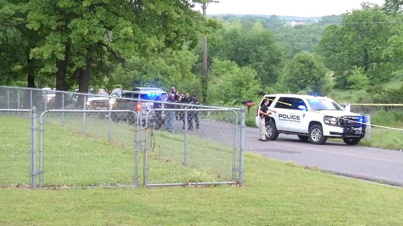 GRDA Officer Shoots Man In Tahlequah