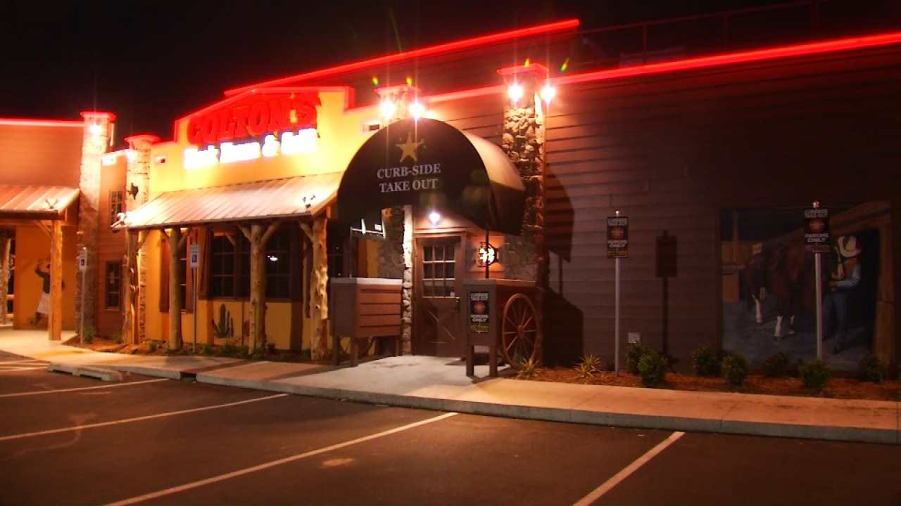 Fight At Sand Springs Restaurant Lands One In Jail, Victim In Hospital