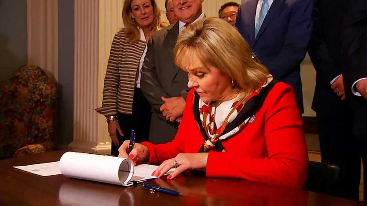 Governor Fallin Vetoes 'Constitutional Carry' Bill