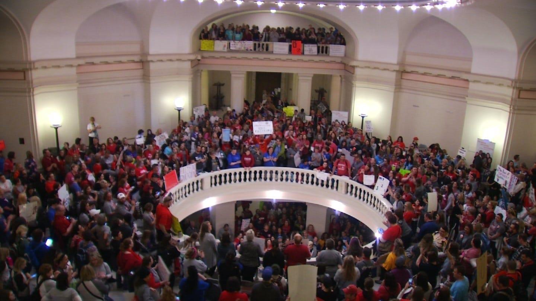 Oklahoma Teacher Pay Raises In Jeopardy