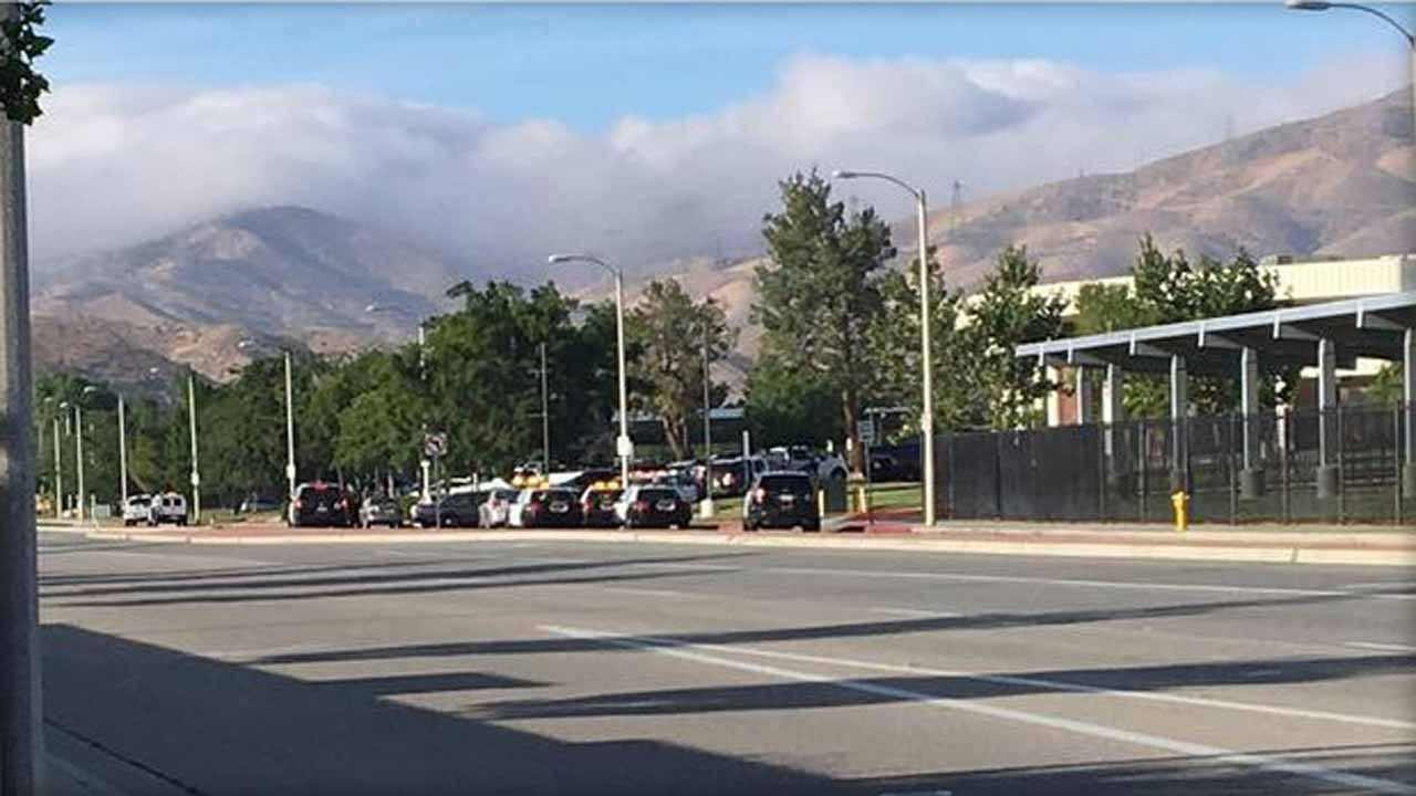 One Detained, School Cleared After Report Of Gunman At Highland High In California