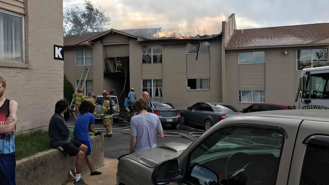 Stillwater Apartment Complex Burns