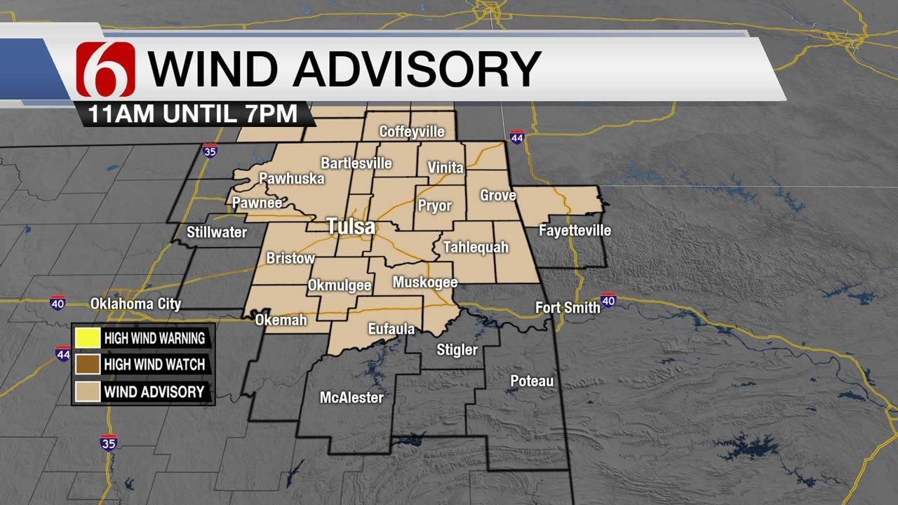 Windy & Warm Friday Across Eastern Oklahoma