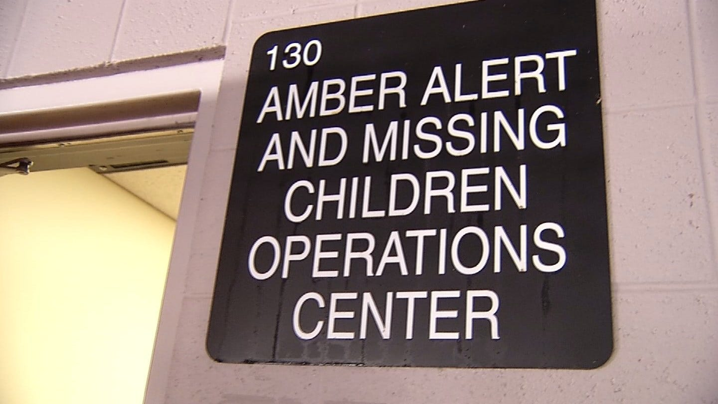 An Inside Look At Tulsa Police Department's New Amber Alert Office