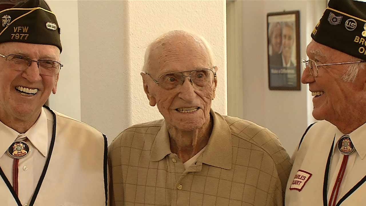 Broken Arrow Man Celebrates 100th Birthday