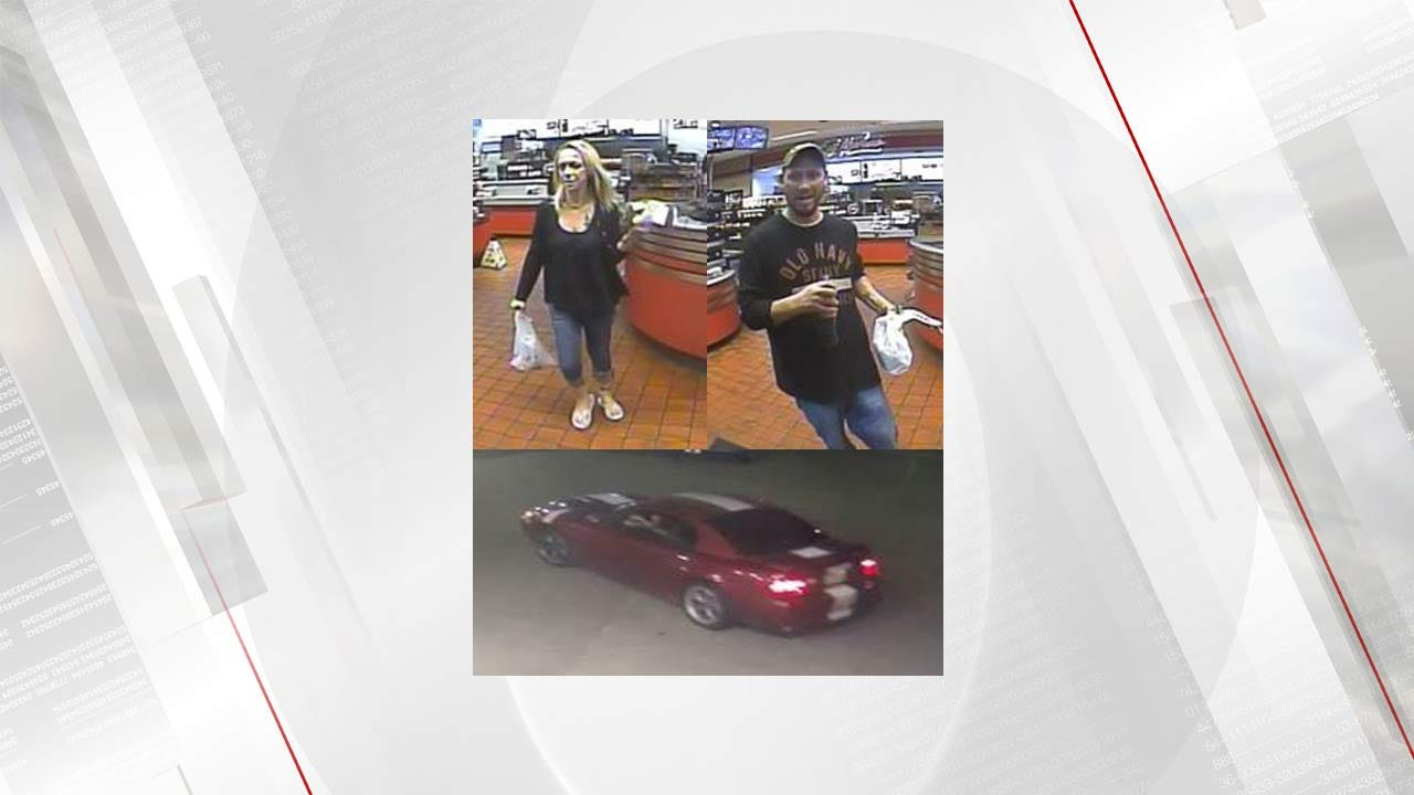 Jenks Police Trying To Identify People Connected To Stolen Credit Card